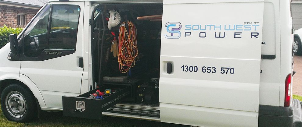 South West Power Pty Ltd Is A 3 Level Accredited Service Provider In Sydney Nsw We Specialise In The Maintenance And Const Electrician Electric Company Power