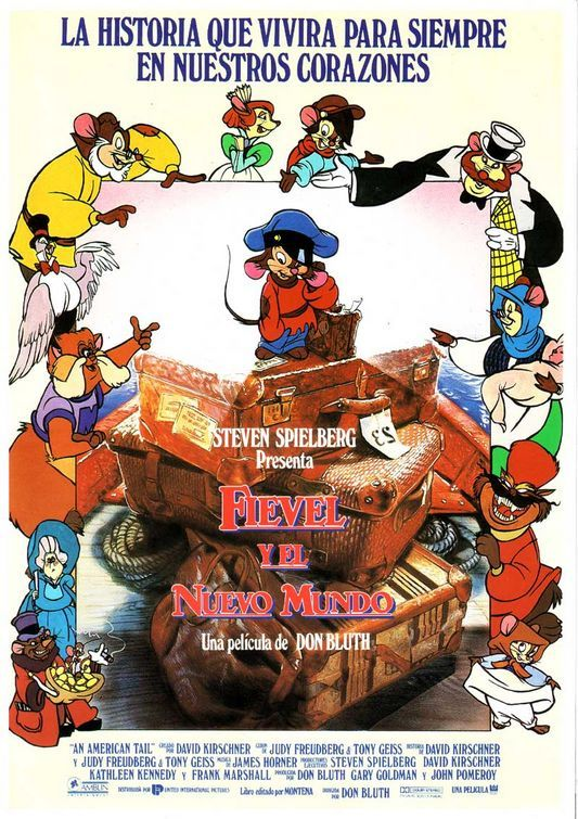 An American Tail (spanish poster) | Alternative Movie Posters ...