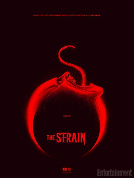 The Strain poster design New serie by FX (2014)
