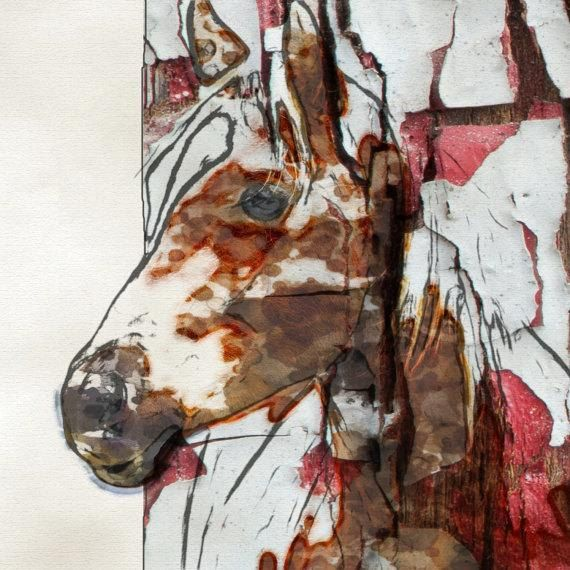 Horse Art. Canvas Print by Irena Orlov large animal by irenaorlov