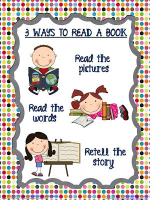 3 ways to read a book printable poster