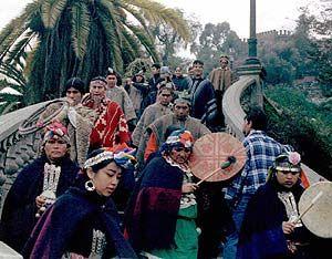 Pueblo mapuche de Chile.