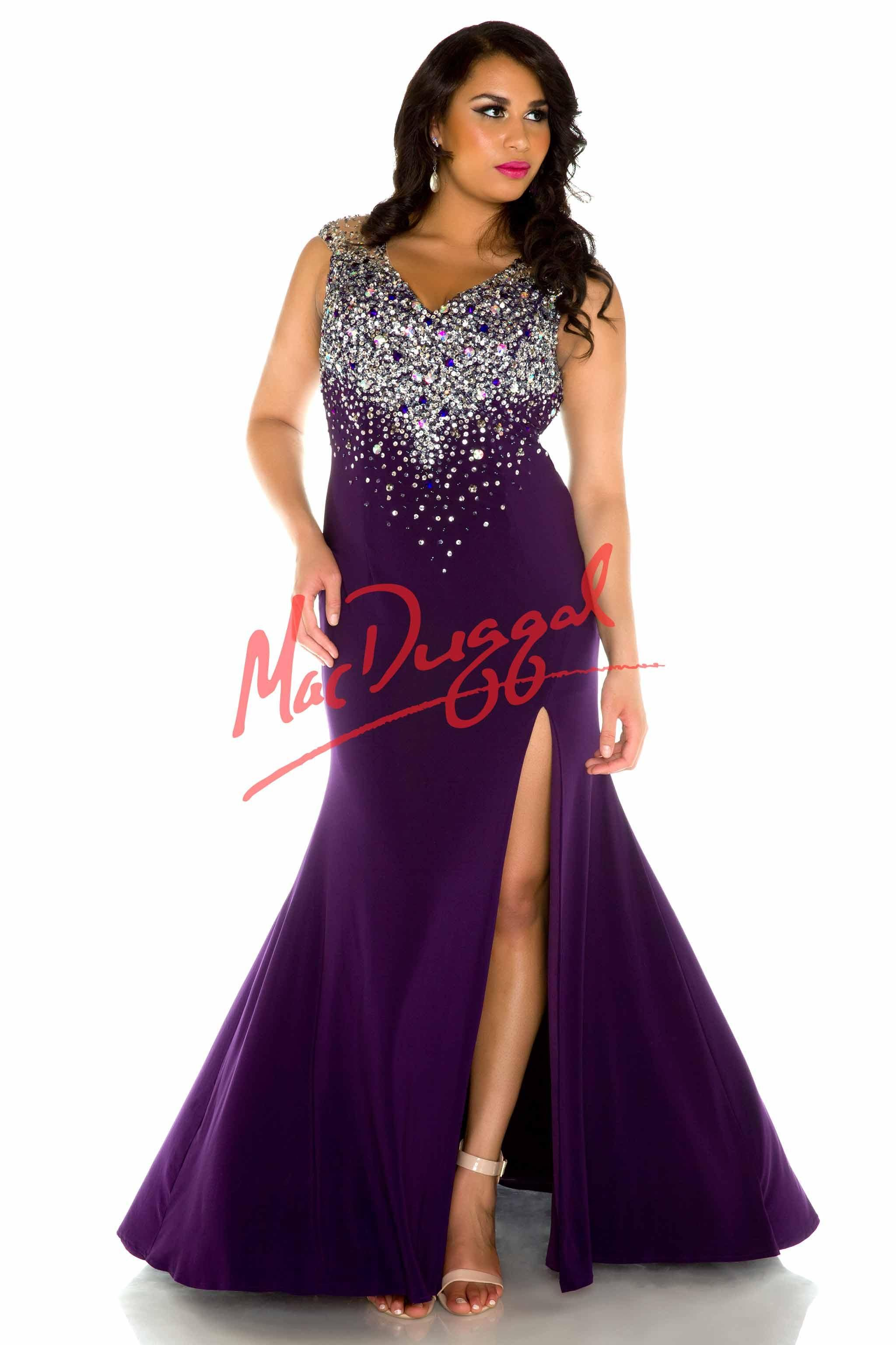 2ac22bff1cd Black and Silver Plus Size Prom Dress