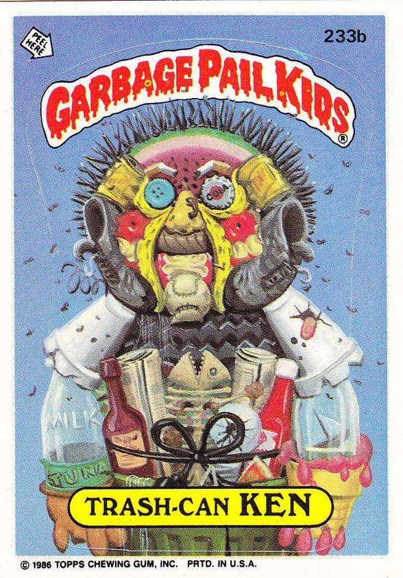 Pin By Christopher Cary On Garbage Pail Kids Garbage Pail Kids Garbage Pail Kids Cards Kids Stickers