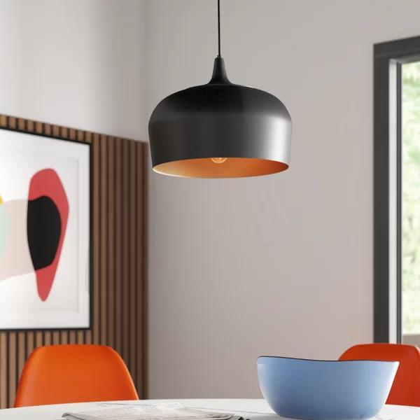 Mariposa 1 Light Single Dome Pendant Contemporary Ceiling Light Globe Lights Globe Pendant
