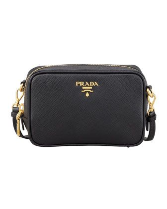 d27e645bfefc Saffiano Mini Zip Crossbody Bag Black (Nero) in 2019 | favorites ...