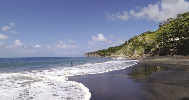 The Top Caribbean Black Sand Beaches Caribbean Black Sand Beach Caribbean Islands