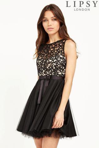 801bddd8eaa7 Lipsy Lace Top Tutu Prom Dress