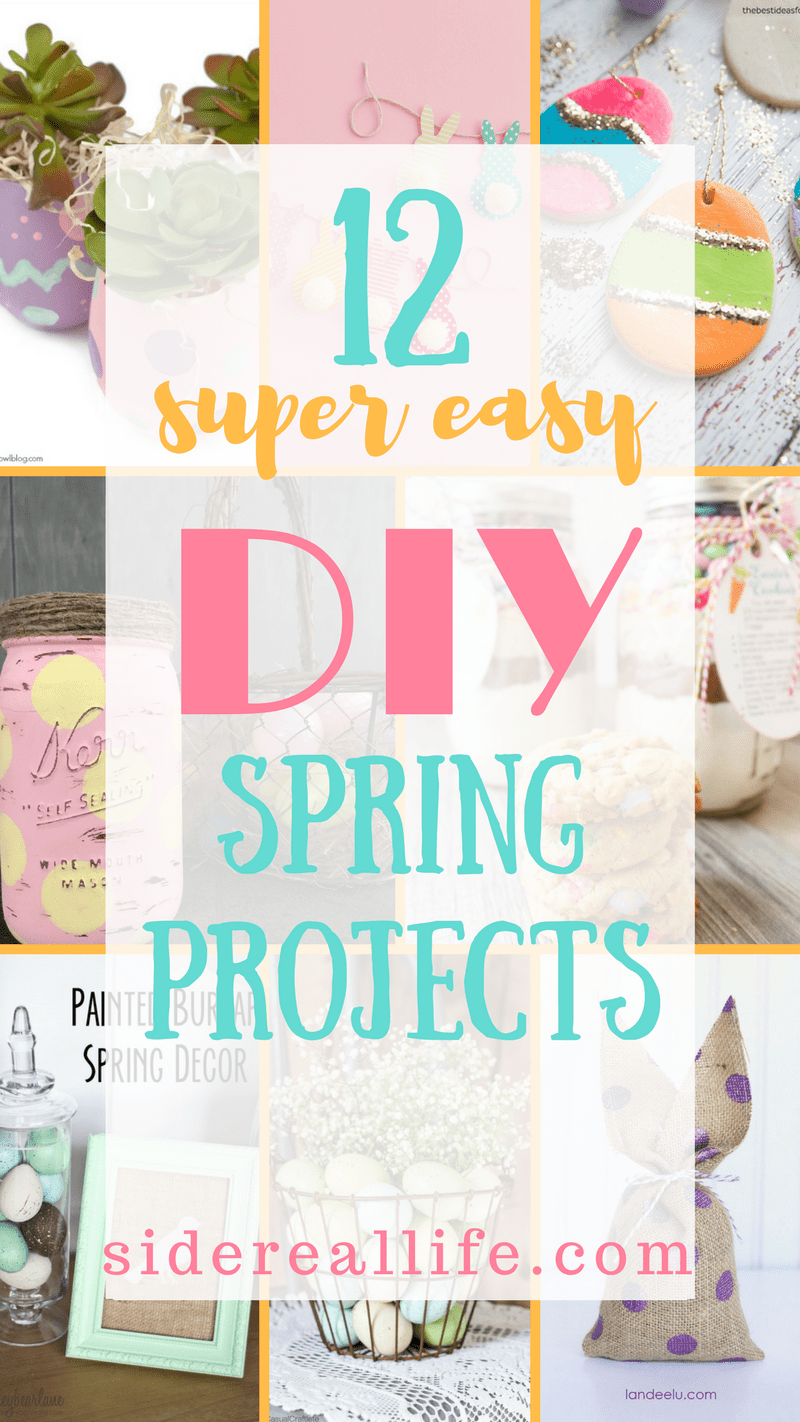 12 Super Easy DIY Spring Projects! Easy Easter & spring themed ...