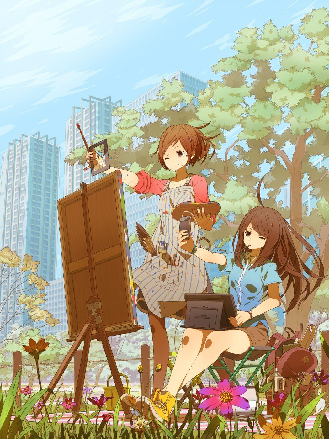 Sketch By Tomiokajiro On Deviantart I Love The Traditional Vs