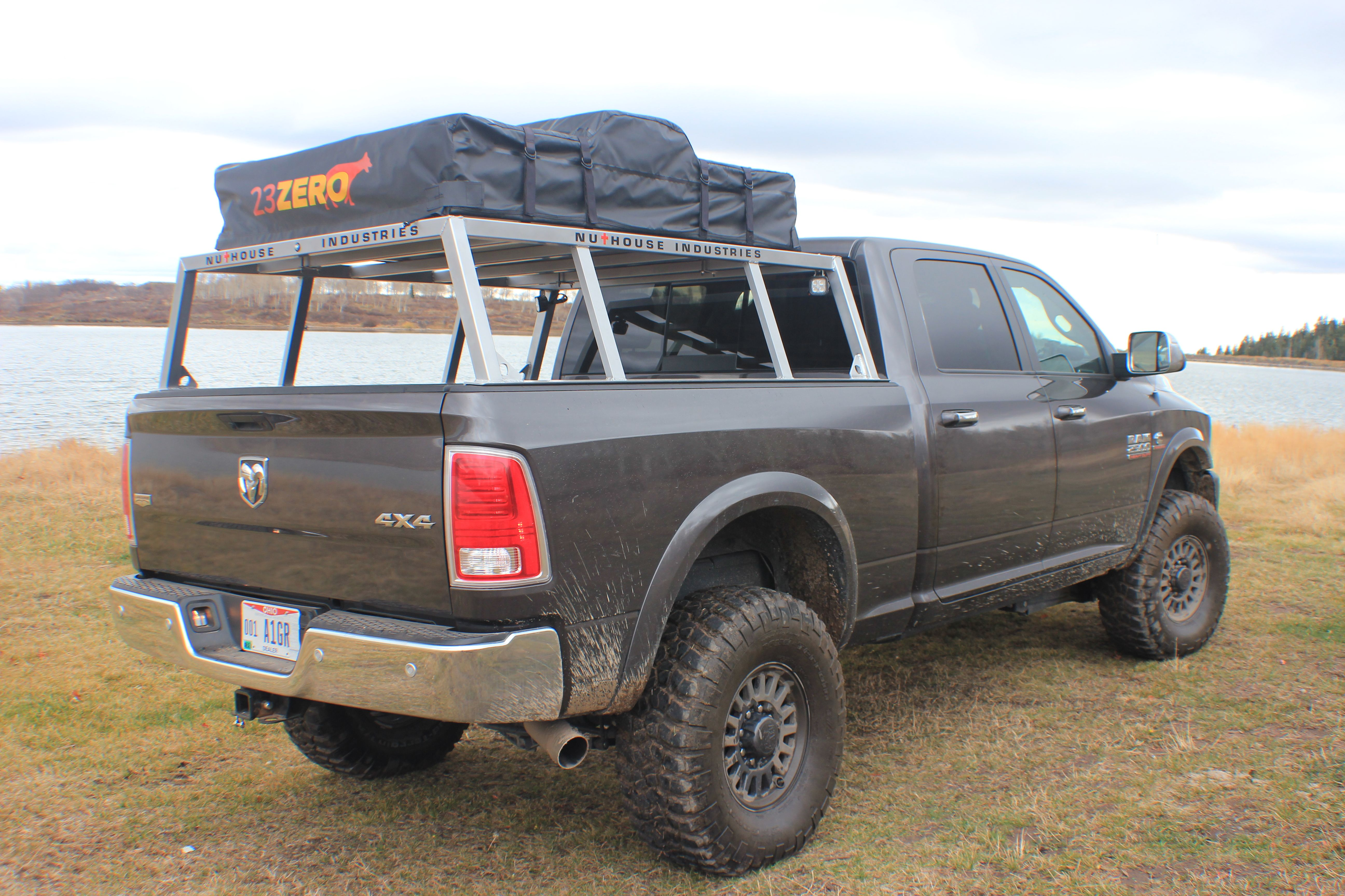 Nutzo Tech 1 series Expedition Truck Bed Rack Nuthouse