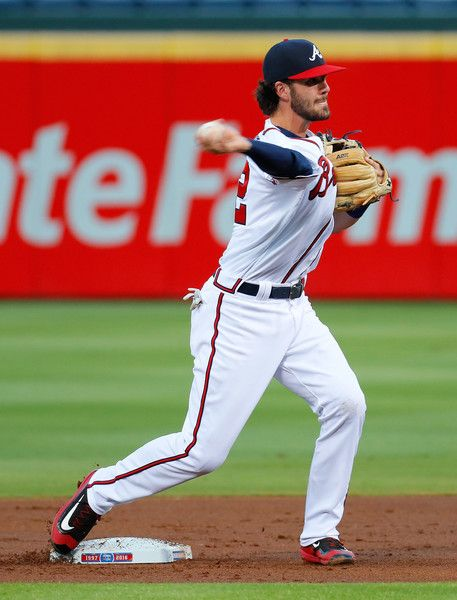 Dansby Swanson Photos Photos Miami Marlins V Atlanta Braves Atlanta Braves Atlanta Braves Baseball Dansby Swanson