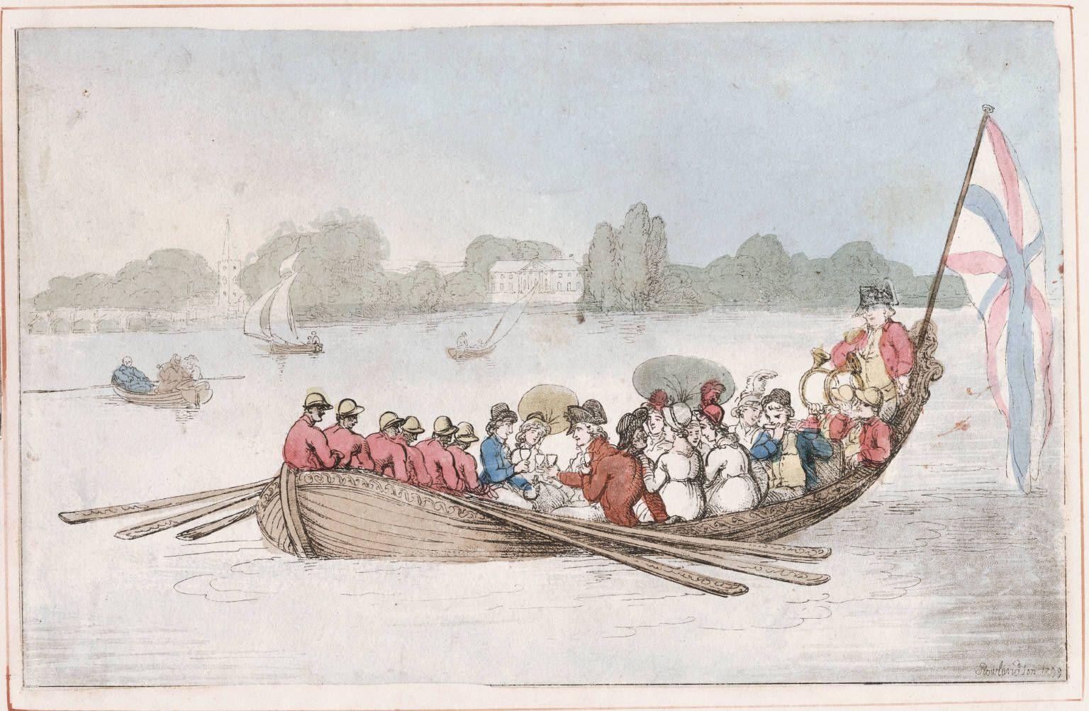 Rowlandson, Thomas, 1756-1827 Chelsea Reach Rowlandson 1799. [London? : s.n., 1799] Call Number: 799.09.00.02