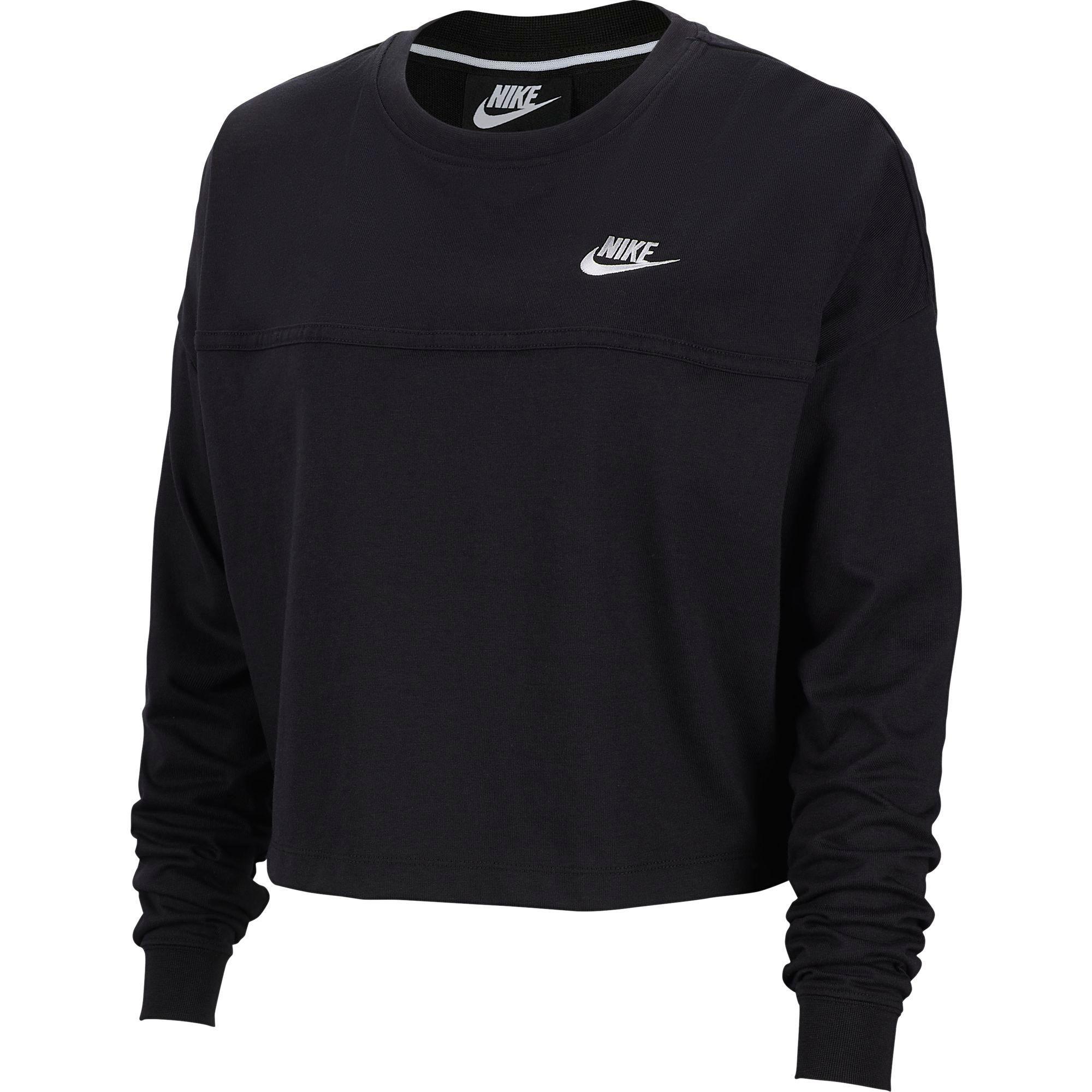 Nike Nike Women's Sportswear Rally Crew Sweatshirt, Size: XS, Black from DICKS Sporting Goods | ShapeShop