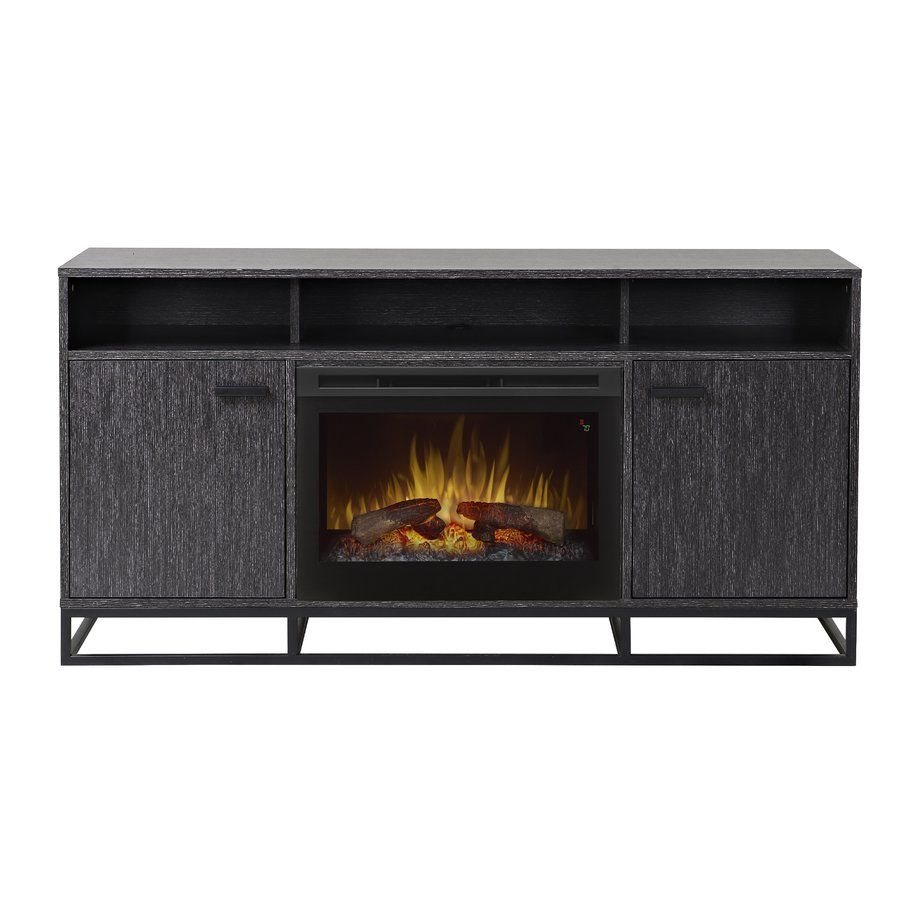 """Reily 64"""" TV Stand with Fireplace Bathroom reno"""