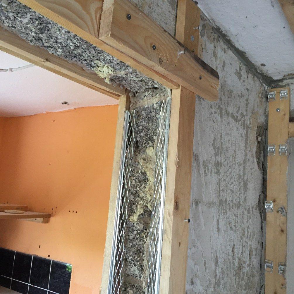 projekt: wände verputzen | dann wollen wir mal! | ideen in 2018