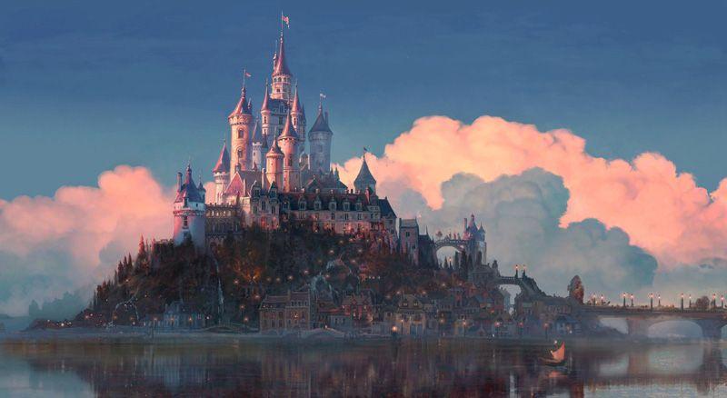 Tangled Corona Castle 3 by Laurent BenMimoun Tangled