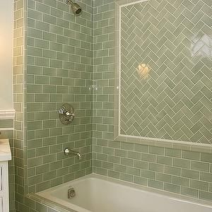 glazed-subway-tile-backsplash - Design, decor, photos, pictures ...