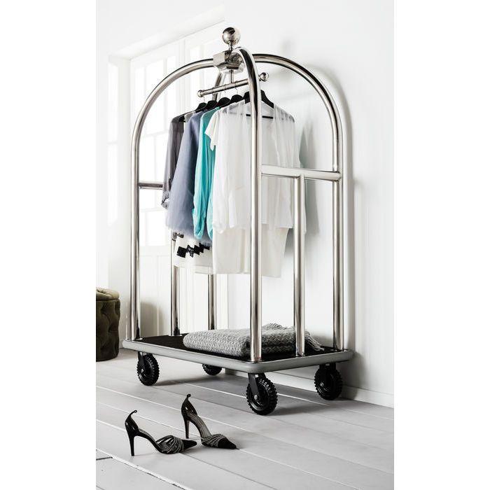 VIP Baggage Trolley Vegas Silver - KARE Design | Black ...