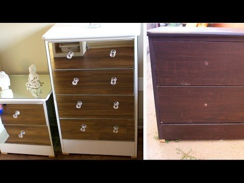 Superior DIY MIRROR DRESSER | EXTREMELY CHEAP FURNITURE REVAMP 2017   YouTube