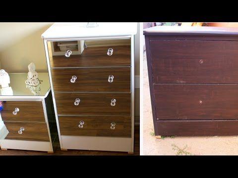 26 Diy Mirror Dresser Extremely Cheap Furniture Revamp 2017