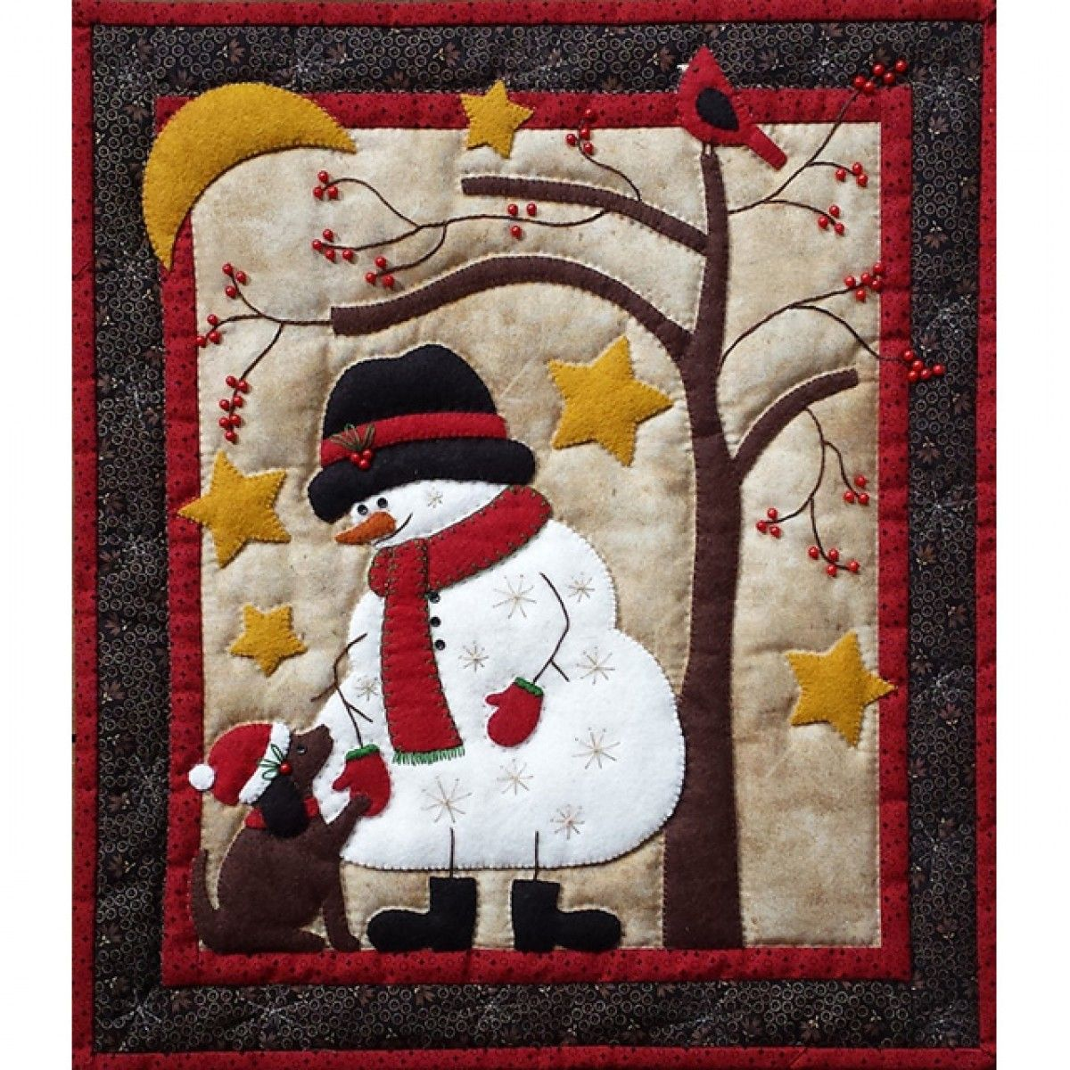 Frosty and Friend Quilt Kit