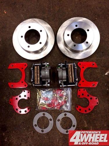 Rear Disc Brake Kit 8 8 1980 96 F150 Fullsize Bronco E150 To 2006