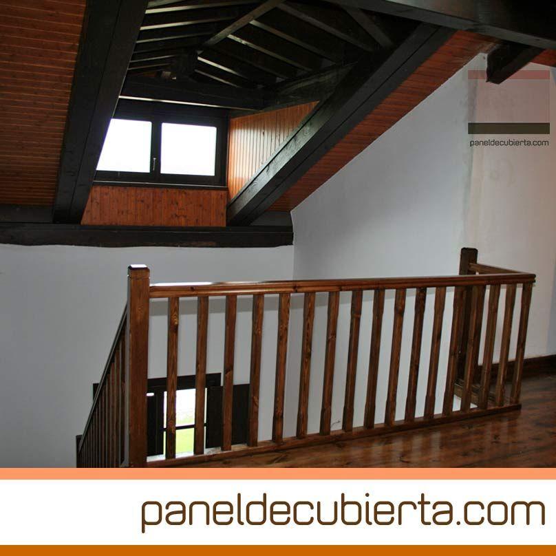 Carpinter a interior escaleras barandillas y cubierta de for Carpinteria interior de madera