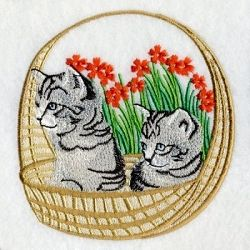 Best Friends Cats 1 - 2 Sizes! | Tags | Machine Embroidery Designs | SWAKembroidery.com Ace Points Embroidery