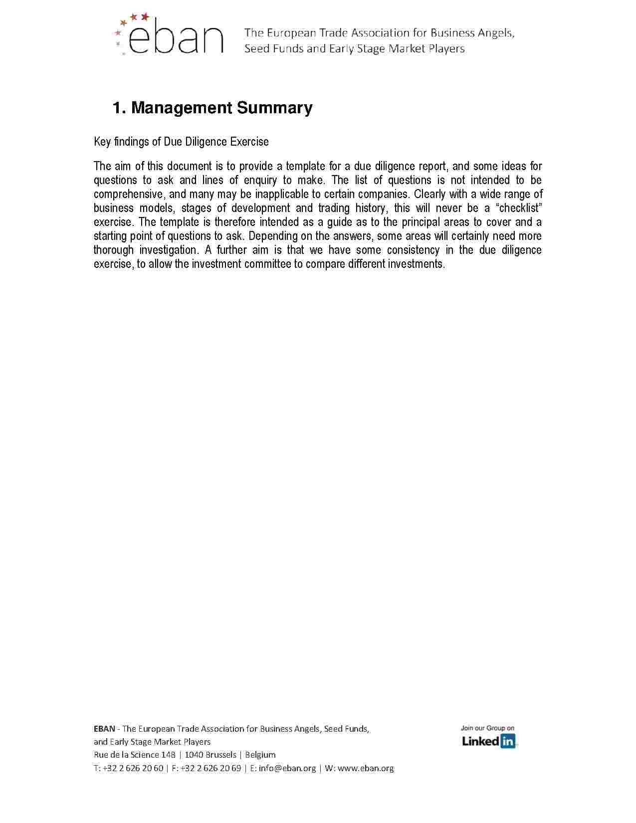 Management Summary Template Templates Business Plan Template  Templates Hunter  Business Plan .