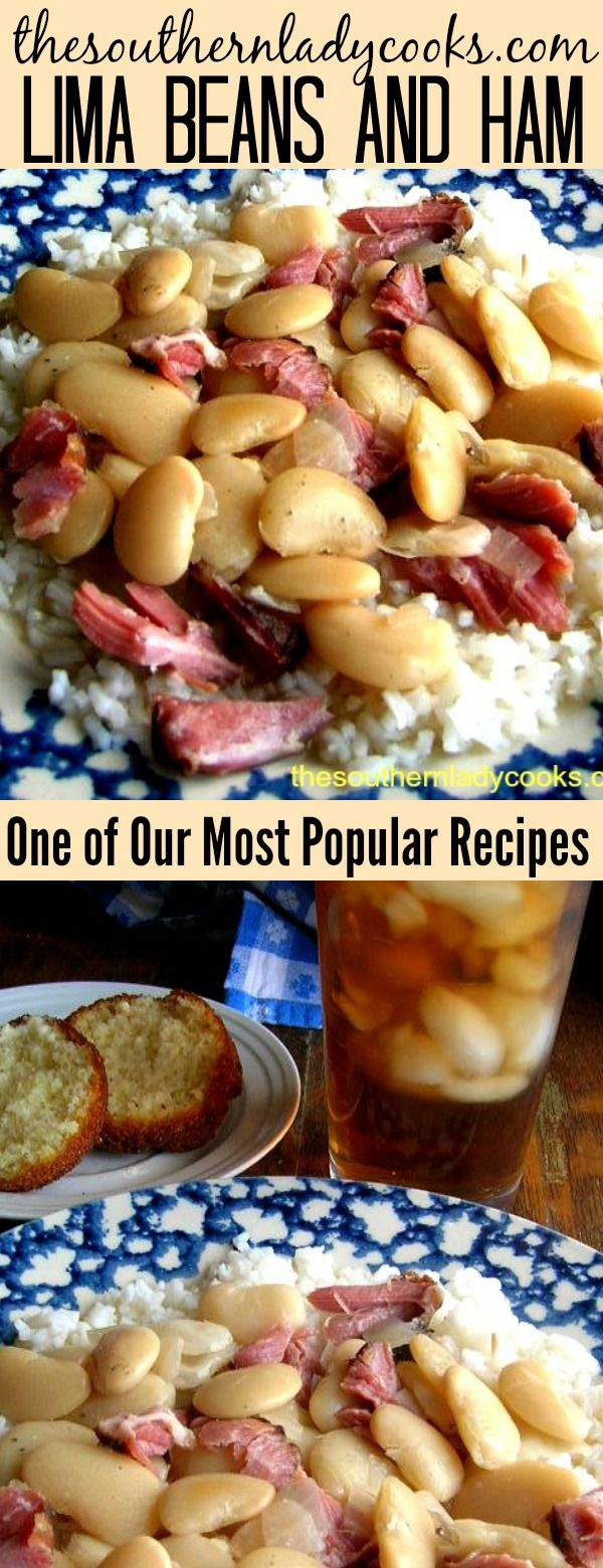 Photo of Lima beans and ham is one of our most popular recipes. Serve this over rice for …