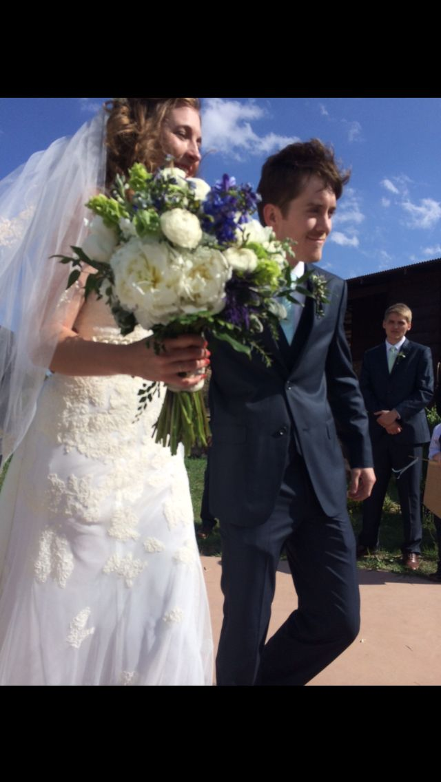 Wedding At Palo Duro Canyon Tx Flowers Were Created By Freemons Out Of Amarillo They Beautiful Like The Bride Groom Was Handsome Too