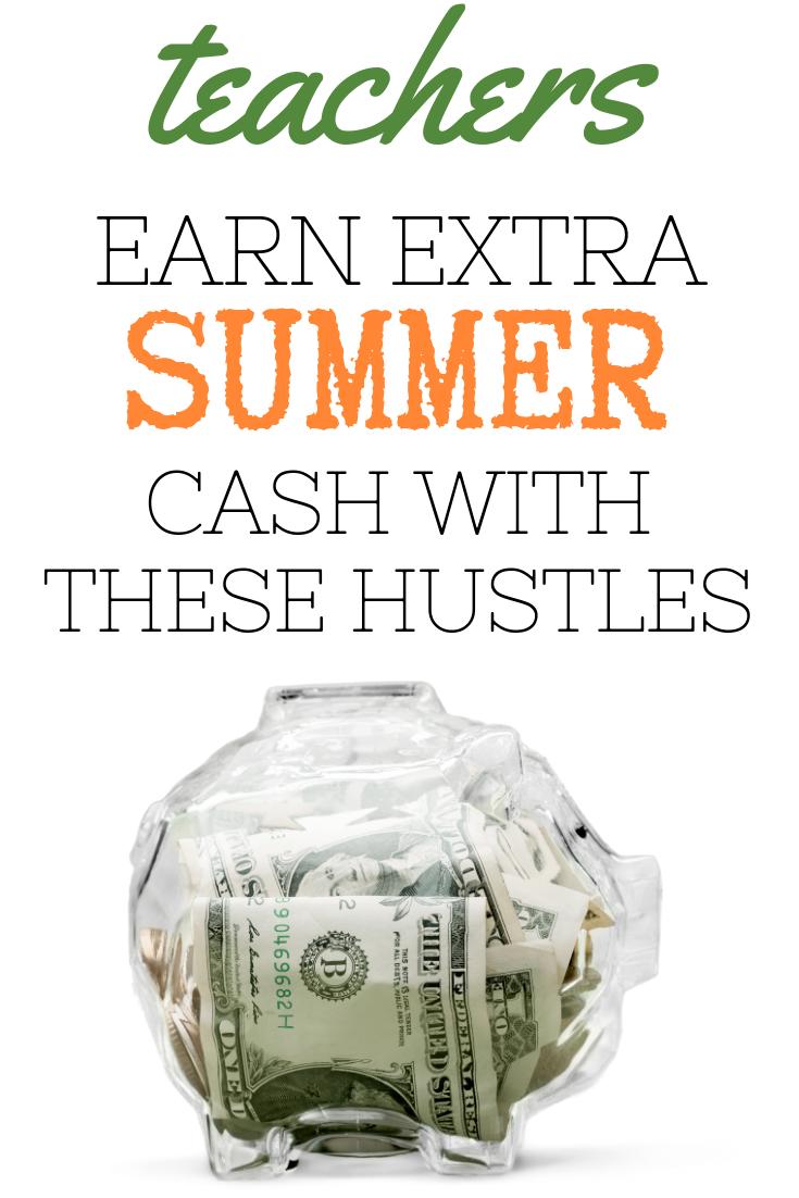 side hustles to make extra money over summer break for