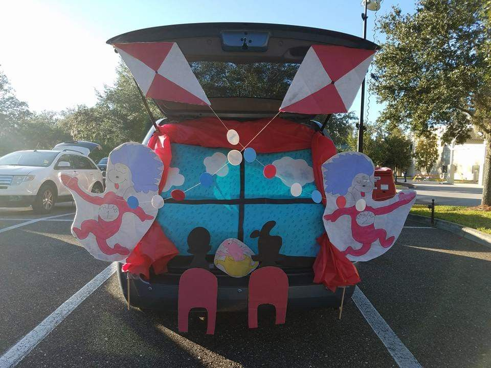 Trunk or Treat 2017 Cat In The Hat Trunk or treat
