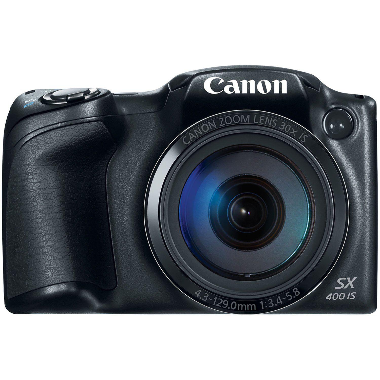 Amazon Com Canon Powershot Sx400 Digital Camera With 30x Optical Zoom Black Camera Photo Canon Powershot Canon Digital Camera Digital Camera