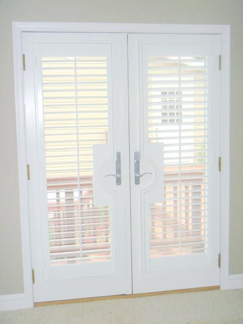 Awesome French Door Plantation Shutters That Eye Cathcing With Cost