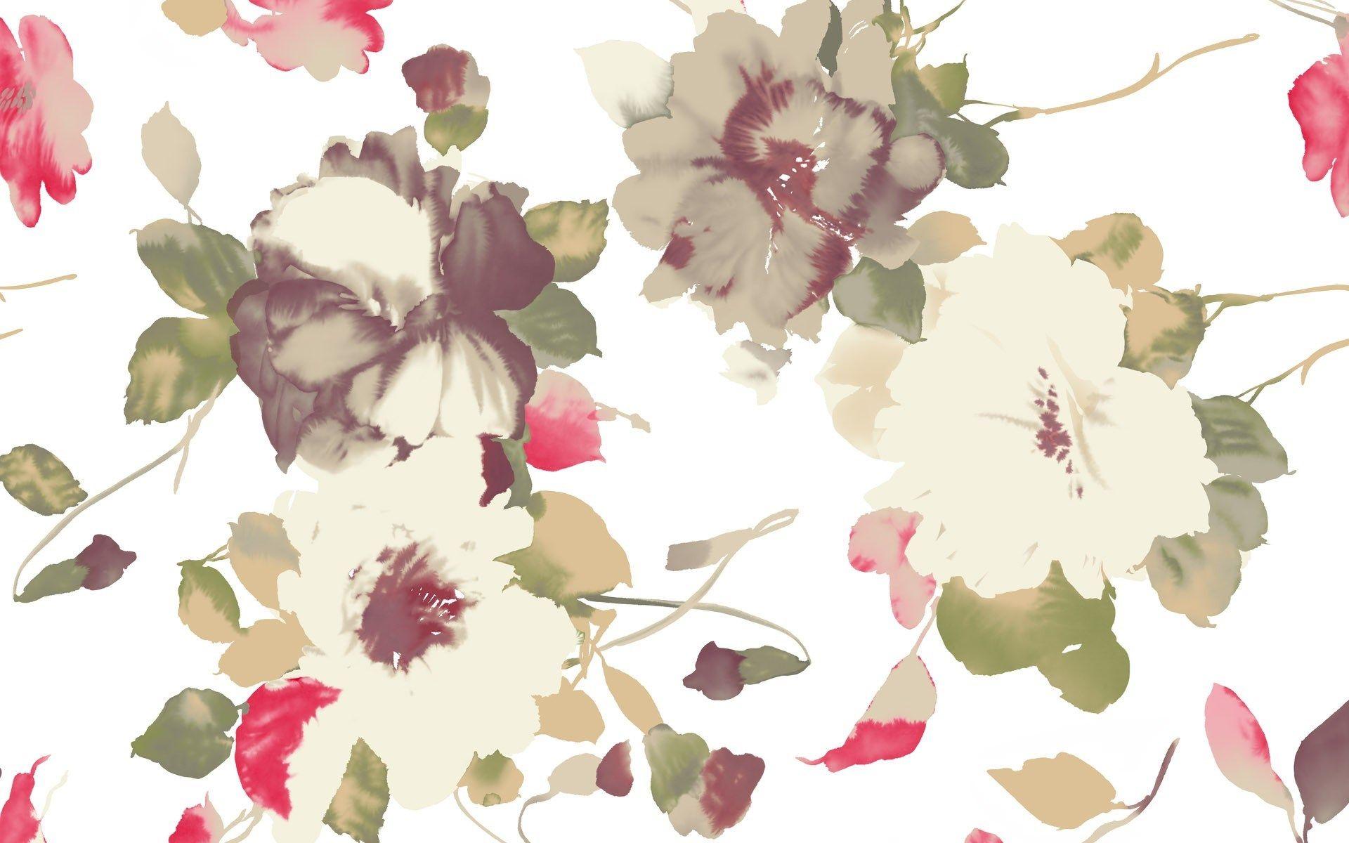 Vintage Flower Wallpapers For Mac Desktop