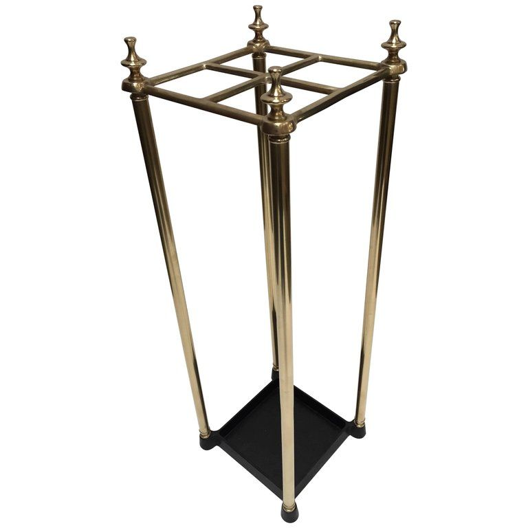 Victorian Polished Brass And Cast Iron Umbrella Stand Valet Umbrella Stand Vintage Umbrella Stand Vintage Umbrella