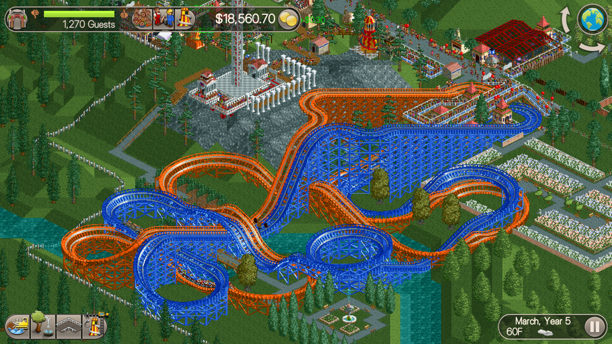 My Best RollerCoaster Tycoon Classic Tips | Video Games | Roller