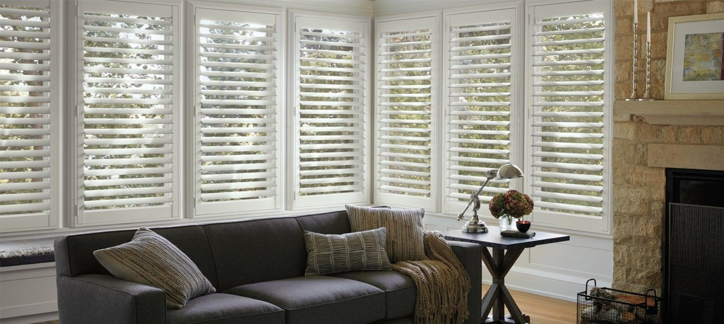 NewStyle in Crisp White Custom window blinds, Interior