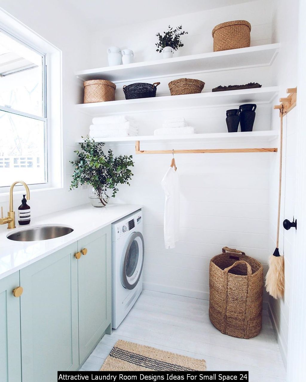 awesome 24 attractive laundry room designs ideas for small on extraordinary small laundry room design and decorating ideas modest laundry space id=11583