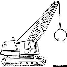 Crane Truck Google Search Online Coloring Pages Coloring