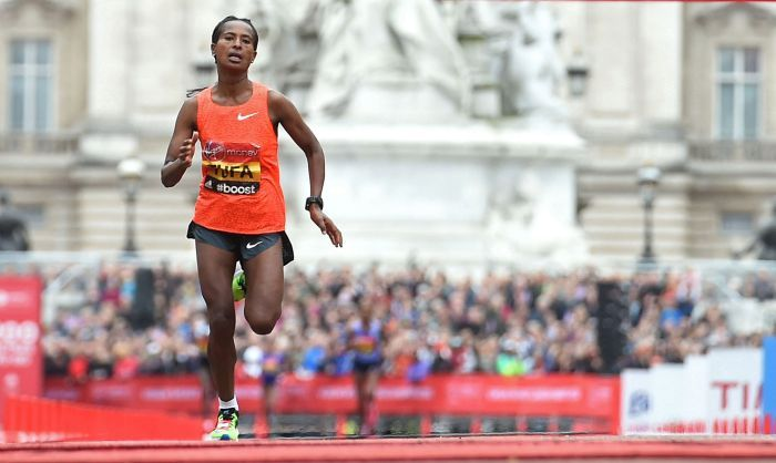 The actual winner of the London marathon has a message for the menstruating Kiran Gandhi who ran without a tampon. And it is not pretty!
