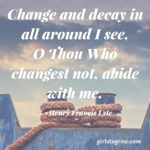 Surrounded by Change, Anchored in Him | Words of Wisdom | Spiritual