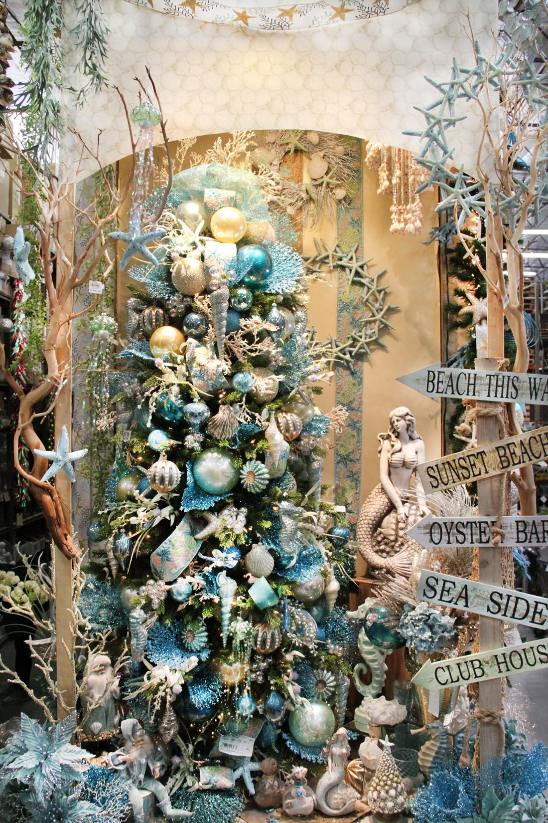 Mermaid Christmas Www Shinodadesigncenter Net Christmas Tree
