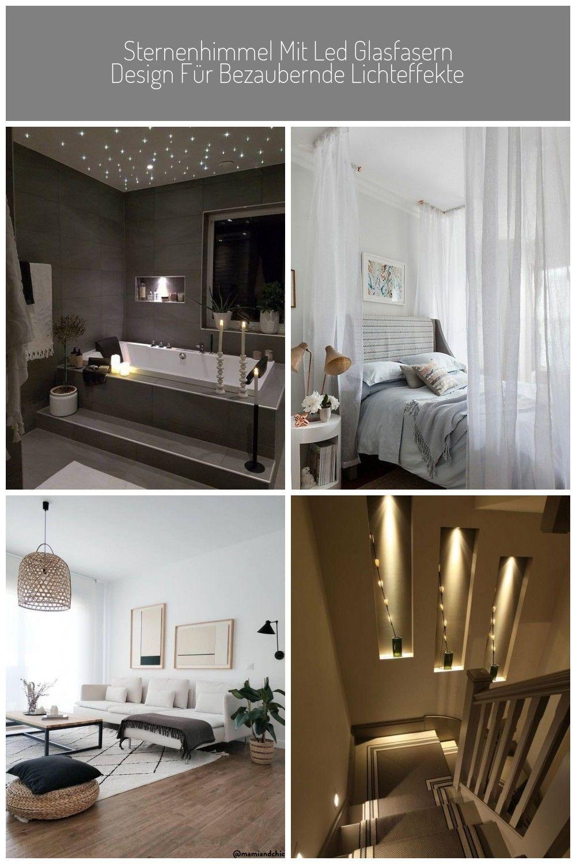 Sternenhimmel Mit Led Glasfasern Design Fur Bezaubernde Lichteffekte Imschlafzimmer Badezimmer Gestalten Kinderzimmer Design Lichteffekte Wohnzimmer Decke