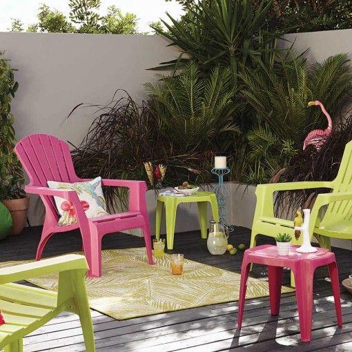 Gorgeous Garden Furniture Tropical Fan Garden Set Outdoor