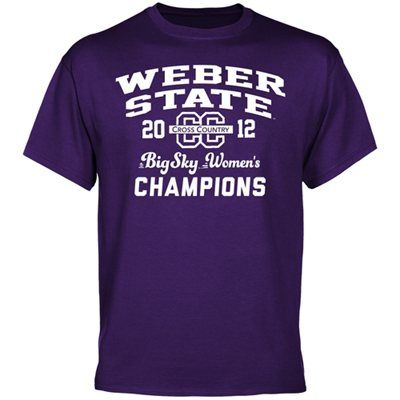 NWT Men/'s CHAMPION Purple Weber State Wildcats S//S Team Polo Shirt Size XL