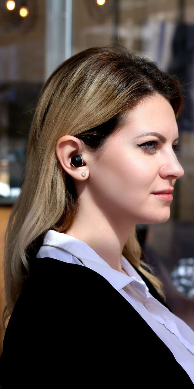 6136c51f034 Air Twins is the latest true-wireless stereo earbuds developed by Ye!!  #crowdfunding #indiegogo #kickstarter #earbuds #audio #design #model #new # earphone ...