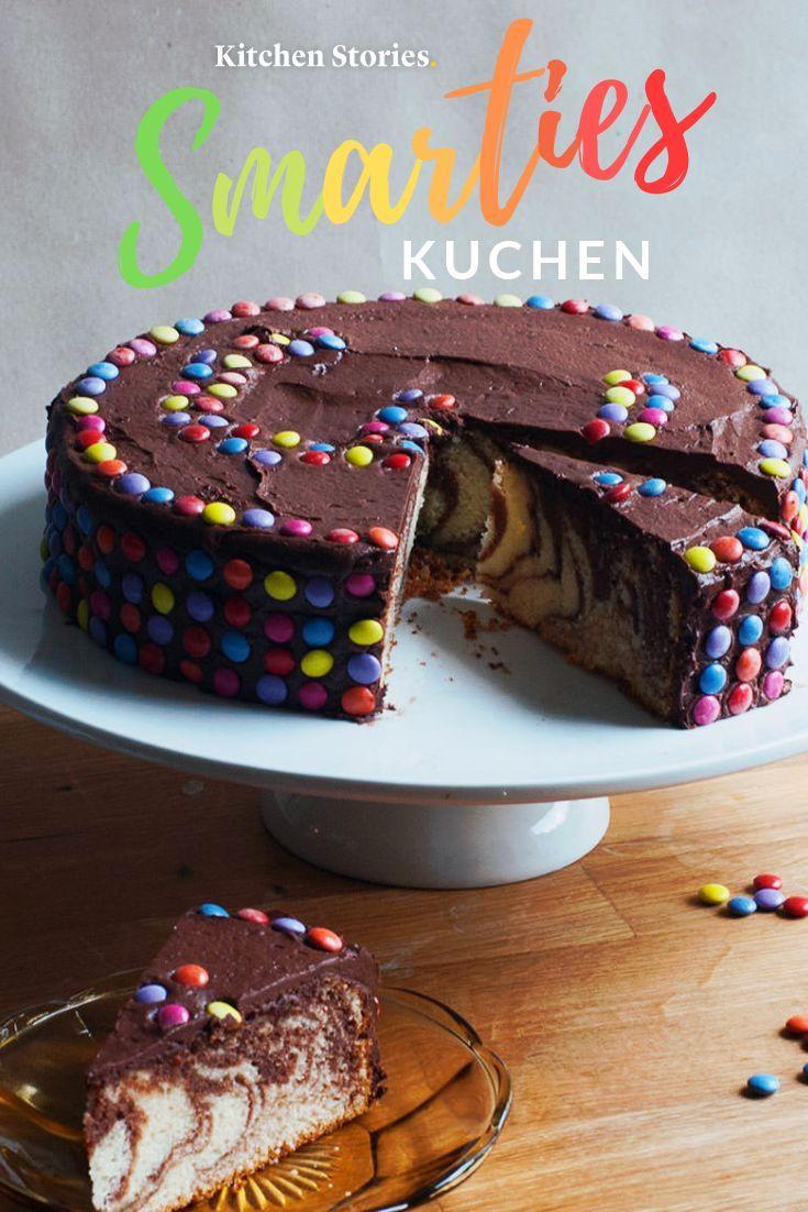 Leckerer Smarties-Kuchen: Einfaches Rezept | Kitchen Stories